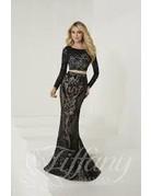 tiffany Design Tiffany Design 16270 Color: Black/Nude, Size: 8