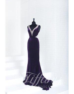 tiffany Design Tiffany Design 16268 Color: Plum, Size: 8