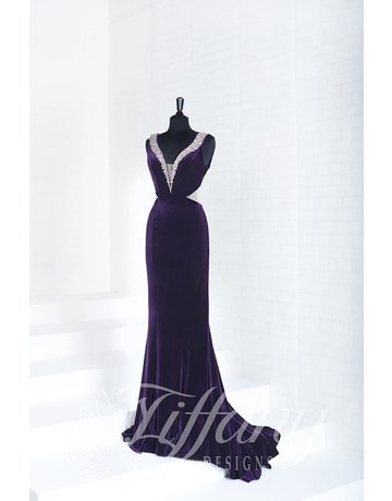 tiffany Design Tiffany Design 16268 Color: Plum, Size: 8
