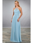 Mary's Bridal Mary'sBridal MB7072 Color: Light Blue, Size: 10
