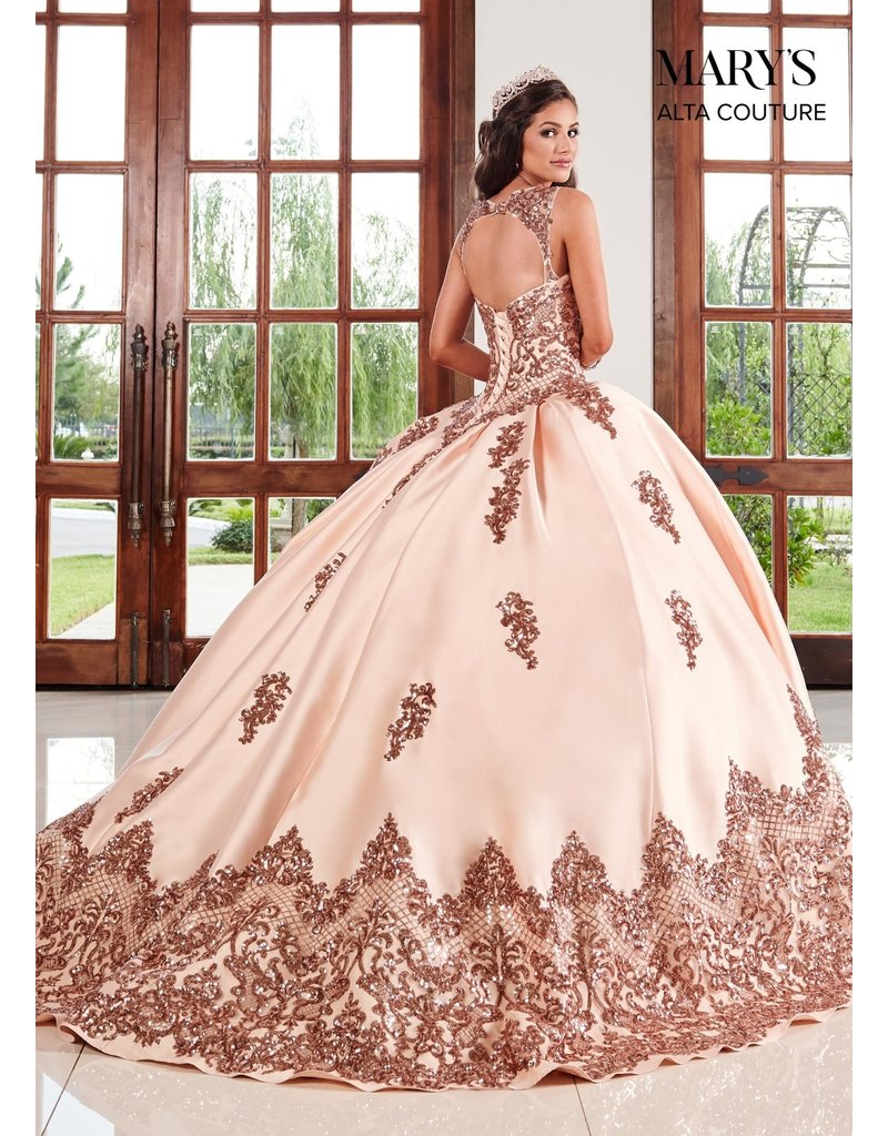 Mary's Quince Mary's MQ3038 Color:Champagne/Rose Gold, Size: 10