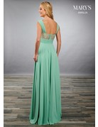 Mary's Bridal Mary's Bridal MB7081 Color:Turquoise, Size: 14