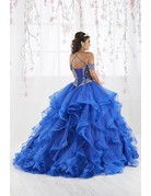 Fiesta Gown Fiesta Gown 56369 Color: Royal Blue, Size: 18