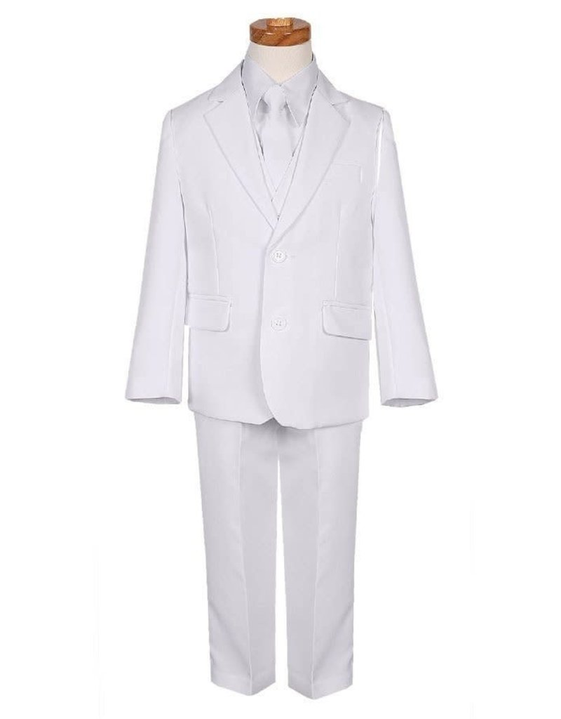 Rafael Rafael Slim Fit BY018-3A Color: White, Size: 12