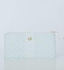 Alaina Marie ® Soothing Sea & White Clutch