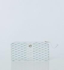 Alaina Marie ® Reef Waters & White Mini Clutch