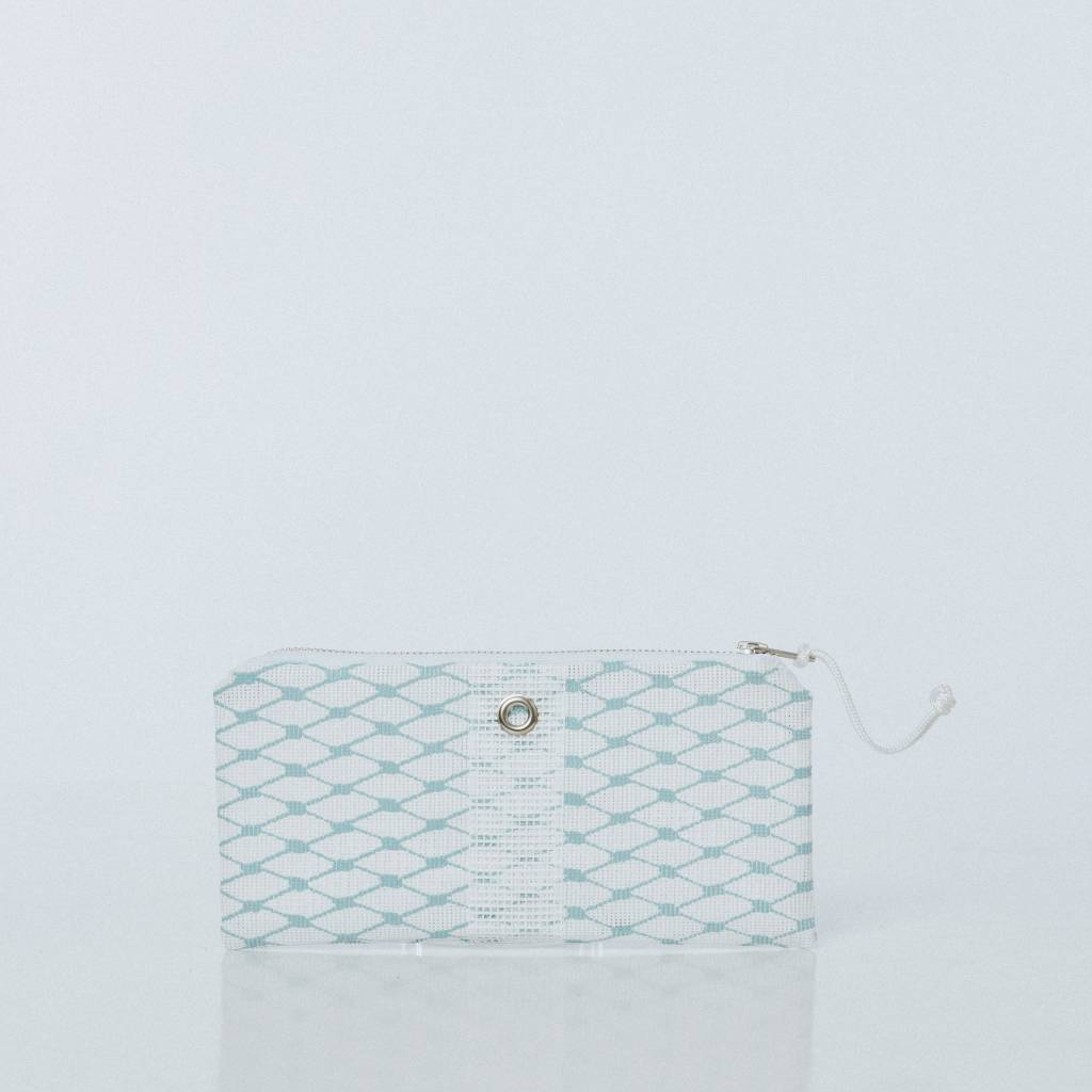 Alaina Marie ® Reef Waters & White Mini Clutch