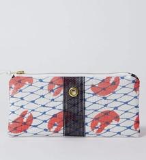 Alaina Marie ® Red Claw & Navy Mini Clutch
