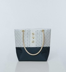 Alaina Marie ® Sailor Blue & White Tote
