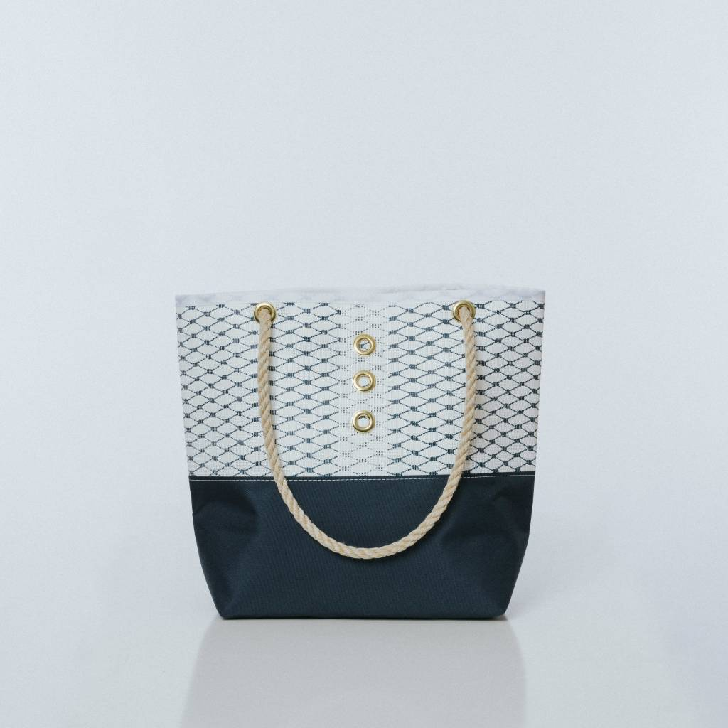 Alaina Marie ® Sailor Blue & White Tote