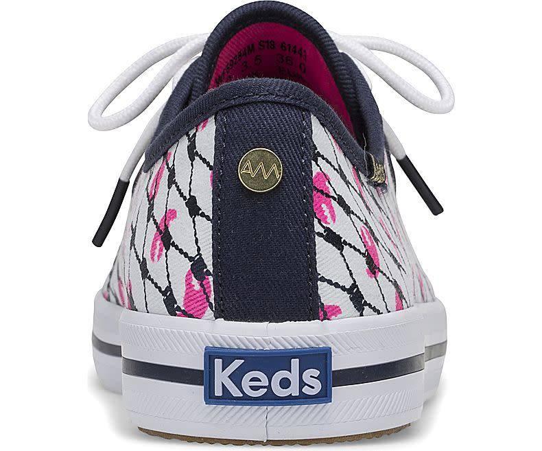 Keds® Alaina Marie x Keds Kickstart Mesh Lobster Sneaker
