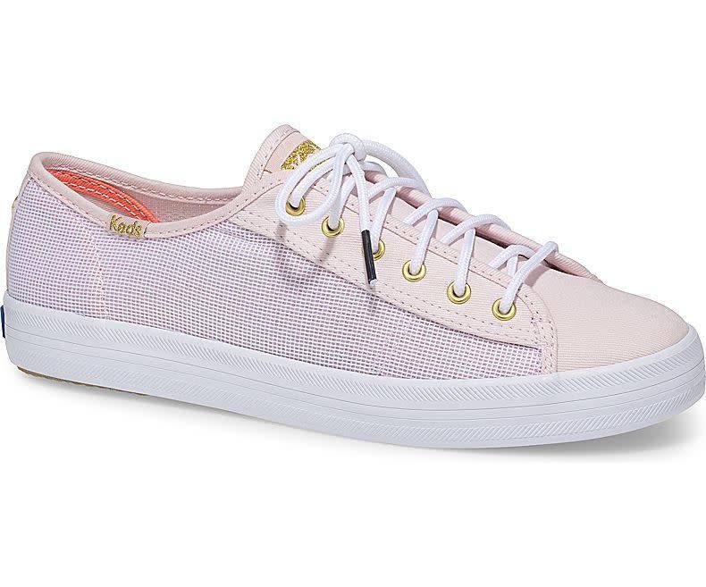 Keds® Alaina Marie x Keds Kickstart Mesh Pink Sneaker