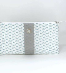 Alaina Marie ® Reef Waters & Grey Clutch