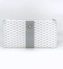 Alaina Marie ® Harbor Mist & Grey Clutch