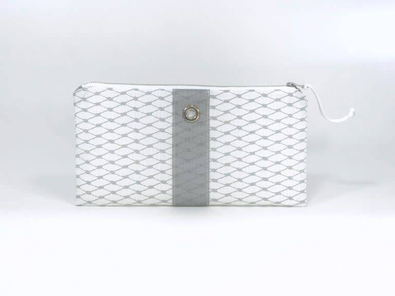 Alaina Marie ® Harbor Mist & Grey Clutch