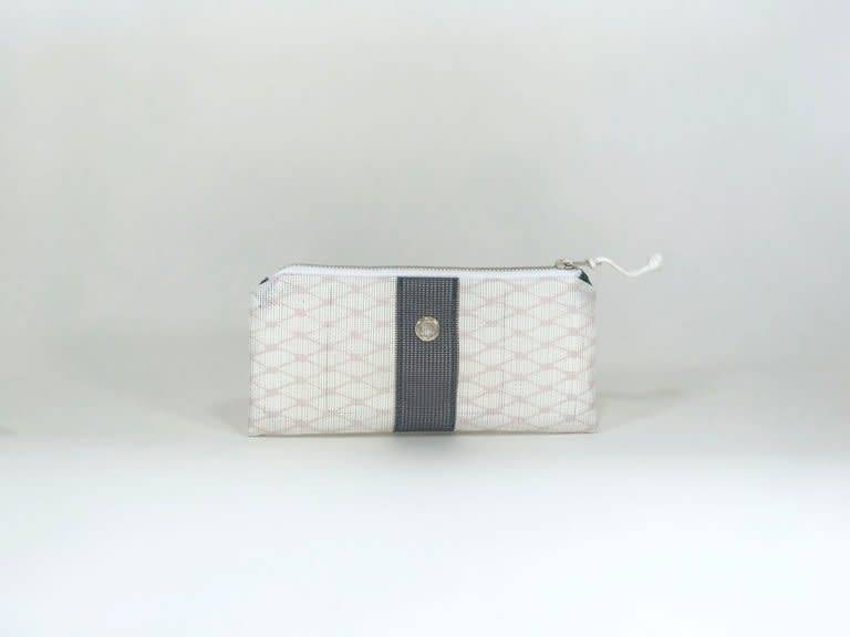 Alaina Marie ® Almost Mauve & Navy Mini Clutch
