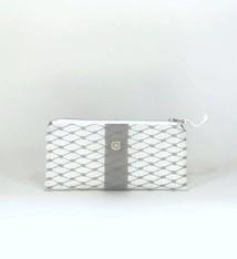 Alaina Marie ® Harbor Mist & Grey Mini Clutch