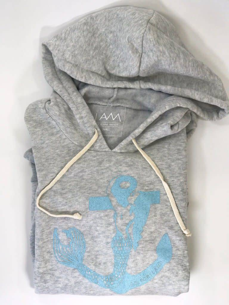 Alaina Marie ® Sirene Hoodie in Light Grey