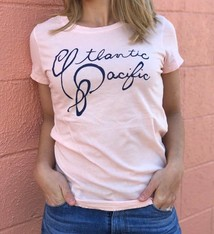 Alaina Marie ® Atlantic-Pacific T-Shirt in Faded Pink