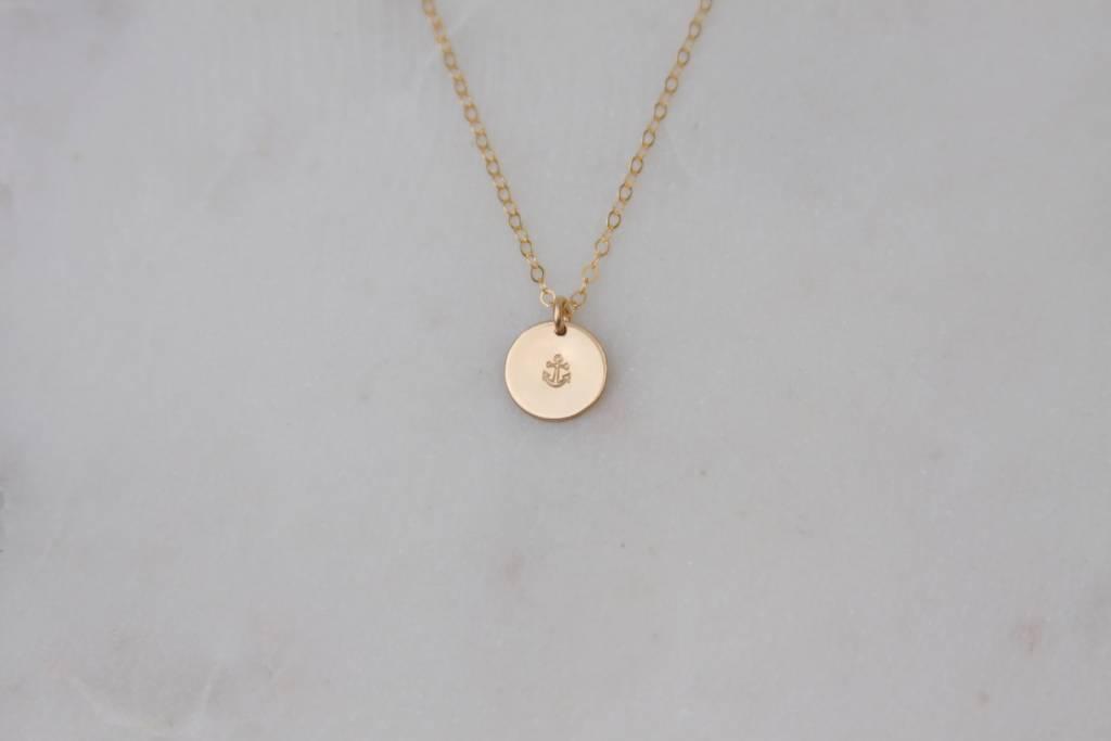 Nashelle Nashelle Anchor Charm Necklace