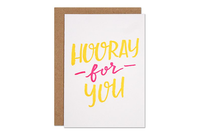 Parrott Design Studio Parrott Design Studio Hooray for You Small Card