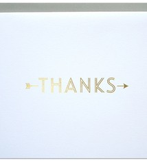 Parrott Design Studio Parrott Design Studio Thanks Large Card