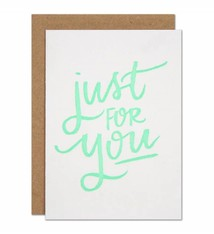 Parrott Design Studio Parrott Design Studio Just for You Small Card