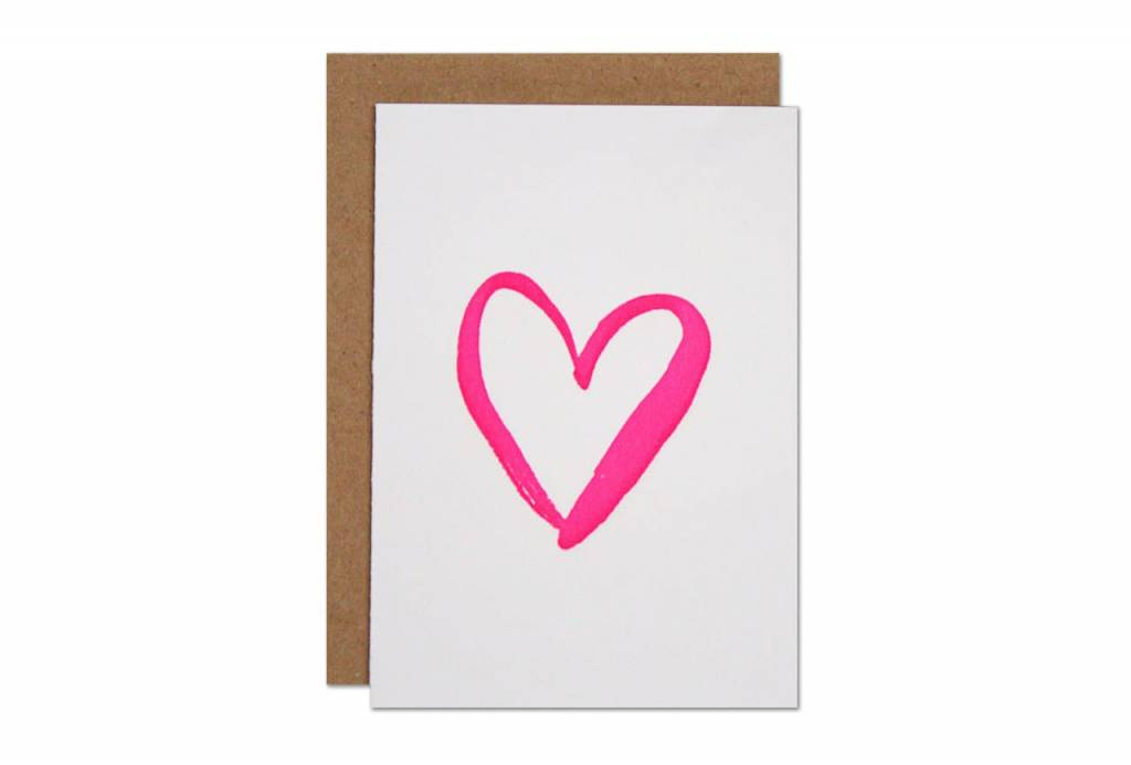 Parrott Design Studio Parrott Design Studio Heart Small Card