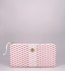 Alaina Marie ® Lobster Bisque & White Clutch