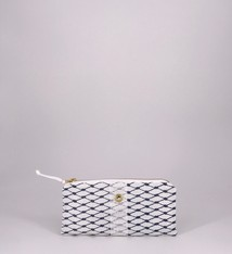 Alaina Marie ® Sailor Blue & White Mini Clutch