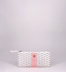 Alaina Marie ® Harbor Mist & Coral Mini Clutch