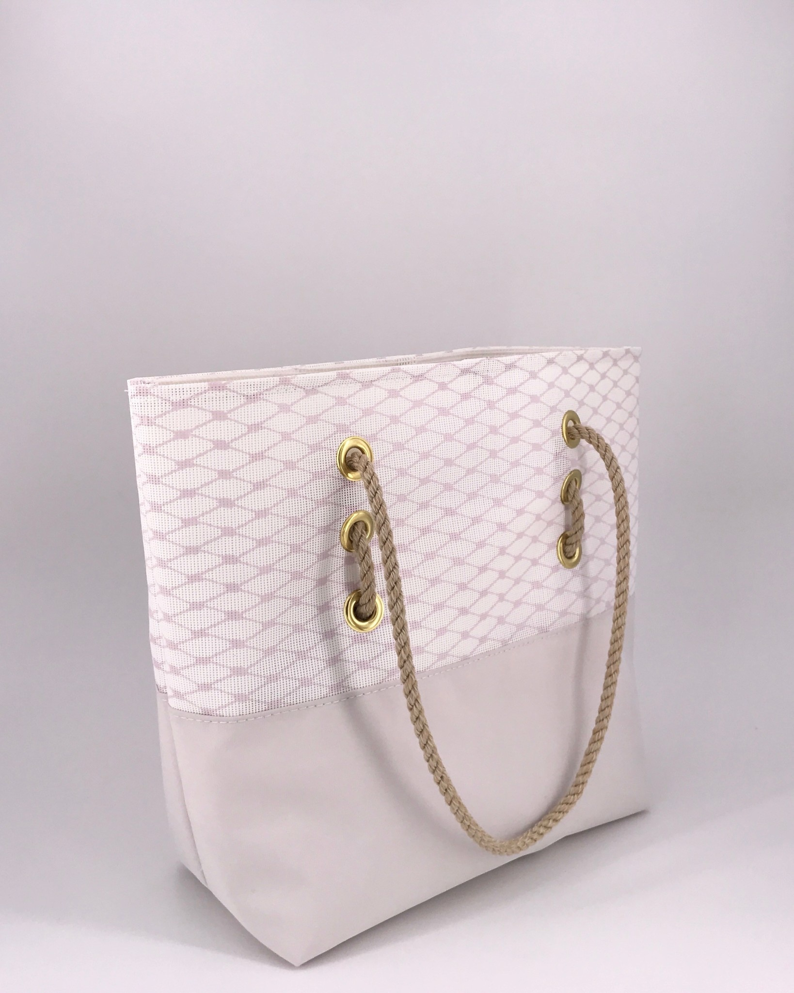 Alaina Marie ® Almost Mauve & Oyster Tote