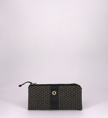 Alaina Marie ® Mini Gold on Black & Black Mini Clutch