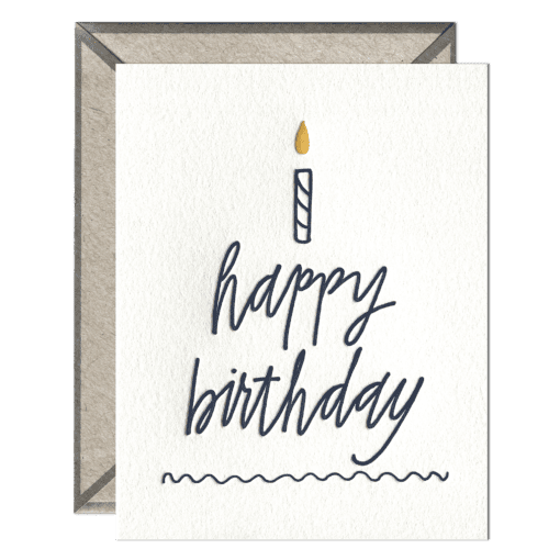 Ink Meets Paper Ink Meets Paper - Happy Birthday Cake