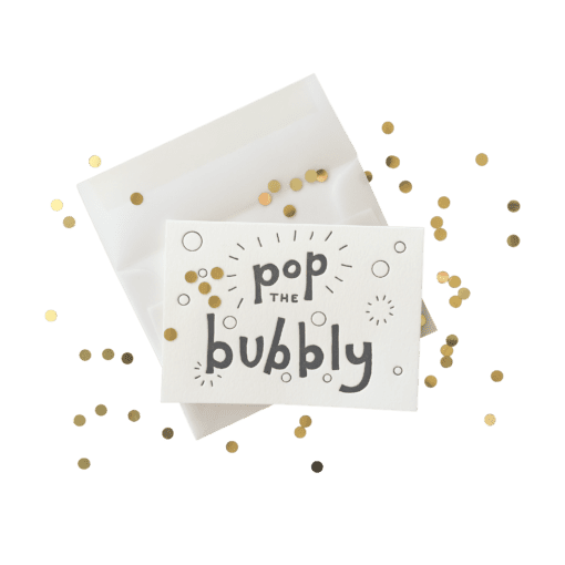 Ink Meets Paper Ink Meets Paper - Confetti Pop the Bubbly