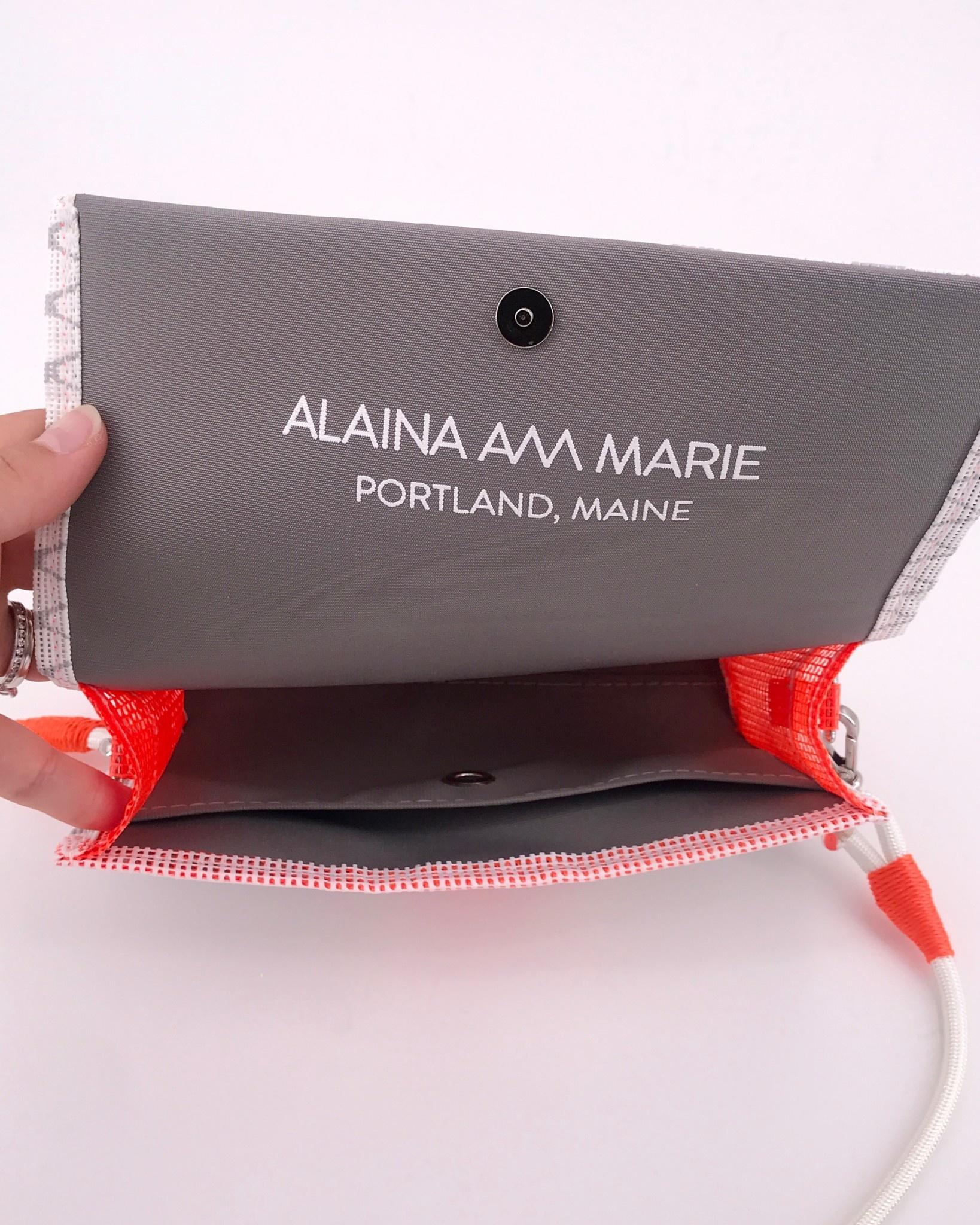 Alaina Marie ® Harbor Mist & Coral Crossbody