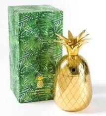 The Pineapple CO 12 oz Tumbler Gold