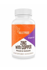 Bulletproof Bulletproof® Zinc with Copper - 60 Ct.