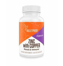 Bulletproof Bulletproof® Zinc with Copper - 60 Ct.