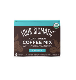 Four Sigmatic Four Sigmatic Adaptogen Coffee Mix With Ashwagandha ( Balance) 10 ct.