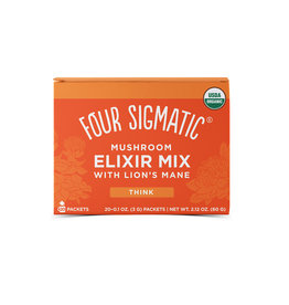 Four Sigmatic Four Sigmatic Mushroom Elixir Mix With Lion's Mane (Think) 20 ct.