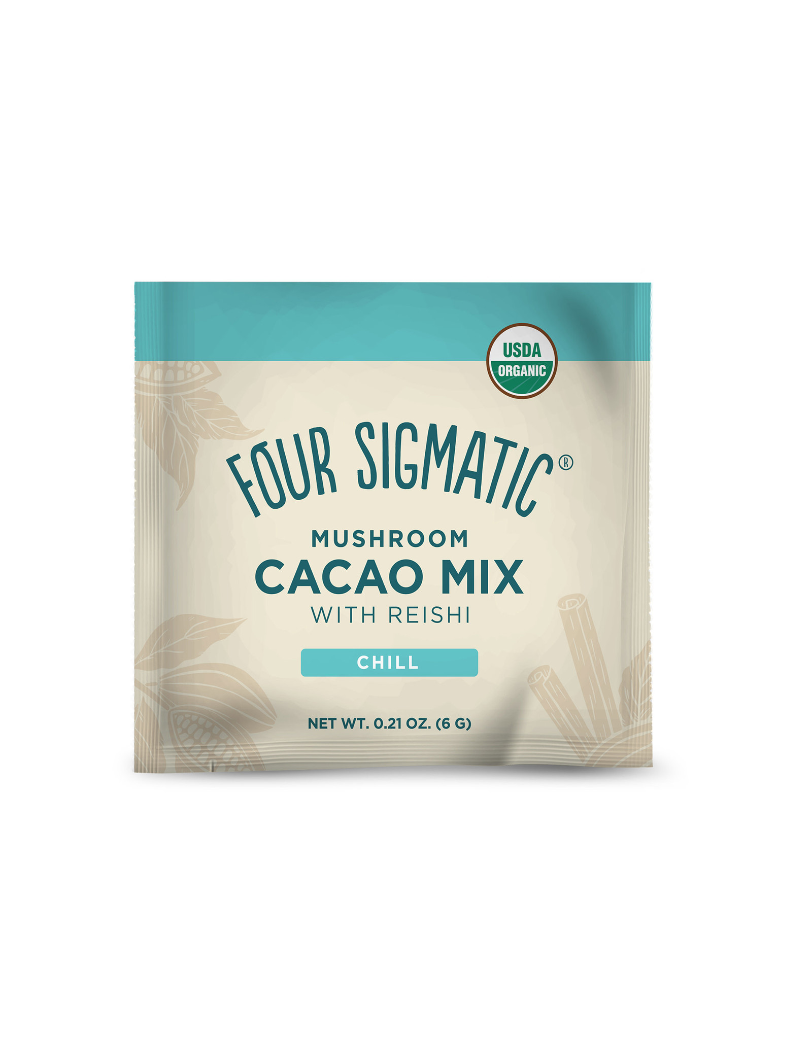 Four Sigmatic Four Sigmatic Mushroom Cacao Mix With Reishi (Chill) 10 ct.
