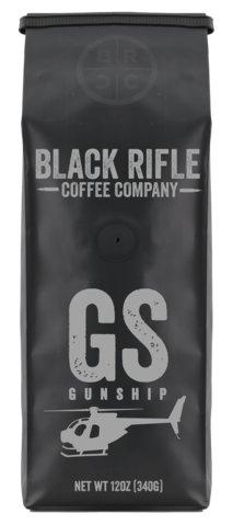 Black Rifle Coffee Co. BLACK RIFLE COFFEE GUNSHIP COFFEE ROAST 12OZ BAG