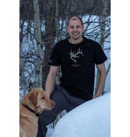 Corlane Apparel Corlane's Men Short Sleeve Camo on Black T-Shirt