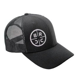 Black Rifle Coffee Co. Black Rifle Coffee Co. Trucker Hat Black w/ Black Mesh