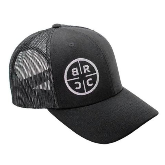 Black Rifle Coffee Co. Trucker Hat Black w/ Black Mesh