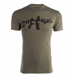 Black Rifle Coffee Co. BLACK RIFLE COFFEE CO AR COFFEE-SHIRT GREEN SIZE LG