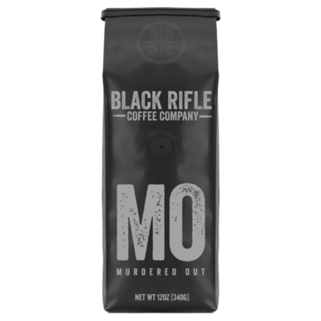 Black Rifle Coffee Co. Murdered Out Coffee Blend Whole Bean