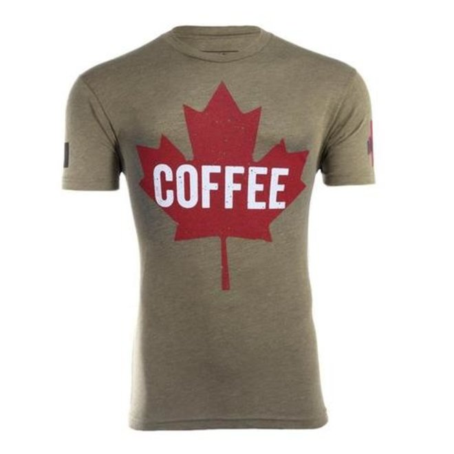 Black Rifle Coffee Co. Maple Leaf T-Shirt Size XL