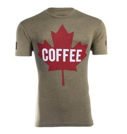 Black Rifle Coffee Co. BLACK RIFLE COFFEE CO MAPLE LEAF T-SHIRT SIZE LG